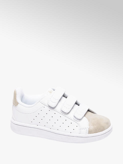 Cupcake Couture Witte sneaker metallic