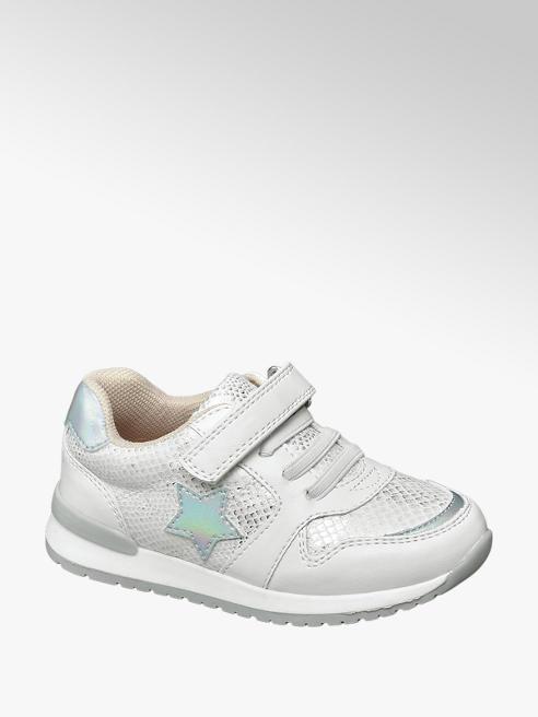 Cupcake Couture Witte sneaker slangenprint