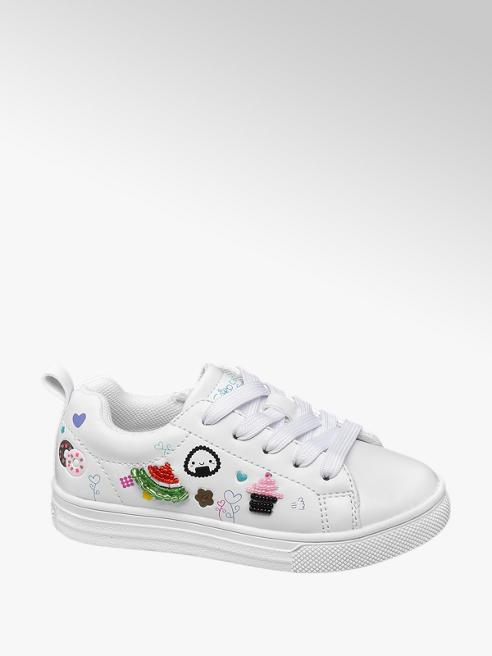 Cupcake Couture Witte sneaker symbolen