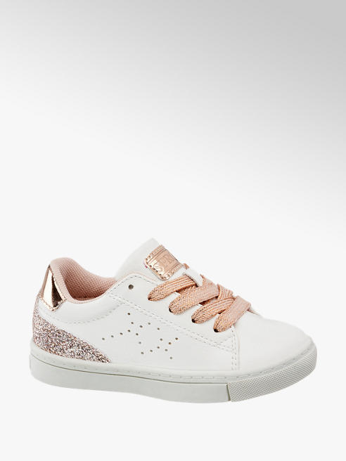 Cupcake Couture Witte sneaker vetersluiting