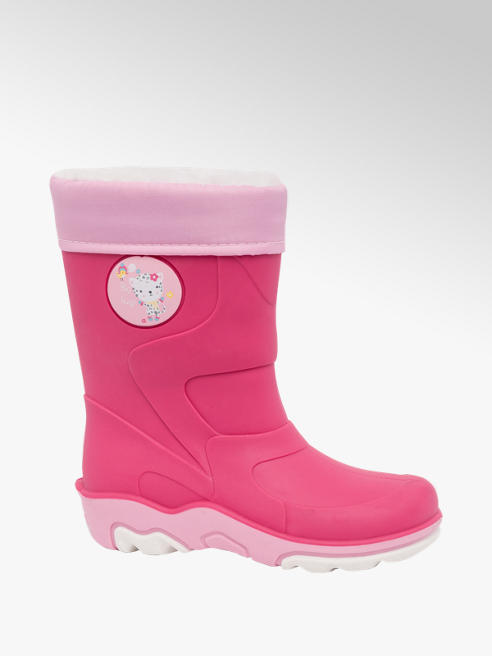 Cupcake Couture Toddler Girls Warm Lined Wellington Boots (Sizes 20-24)