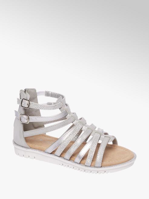 Cupcake Couture Zilveren sandaal glitter
