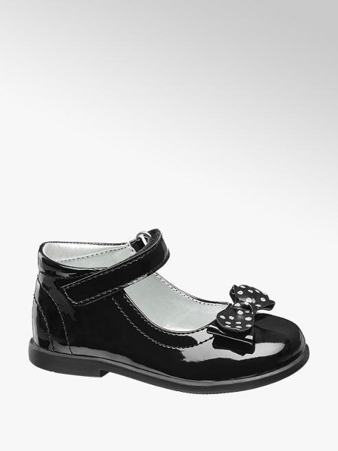 Cupcake Couture Zwarte schoen strik