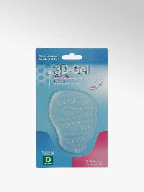 3D-Gel Fotmoln