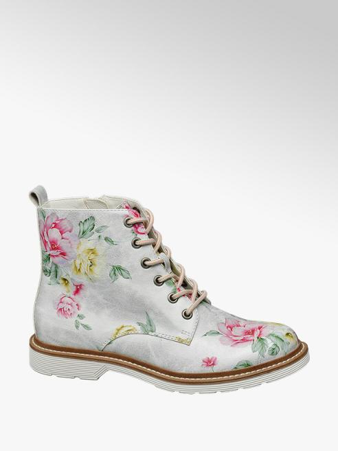 Catwalk Boots im Blumen-Design