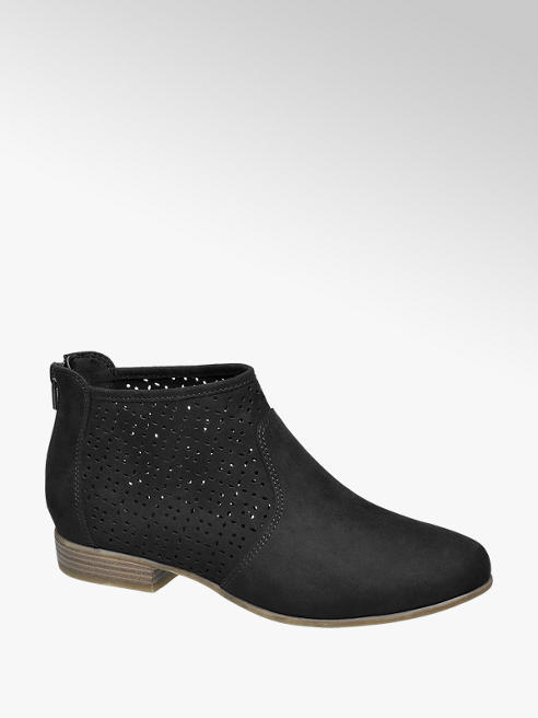 Graceland Boots mit Laser-Cuts