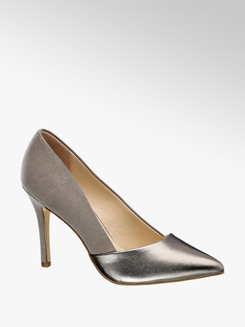 Graceland High Heels im Metallic-Design