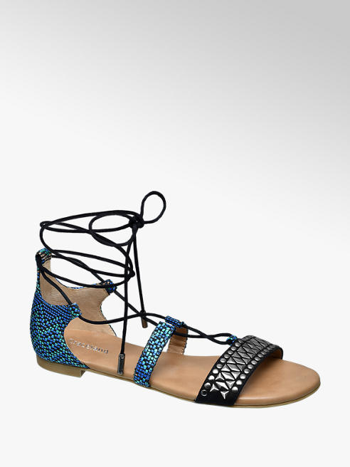 Catwalk Lace-up Sandalen