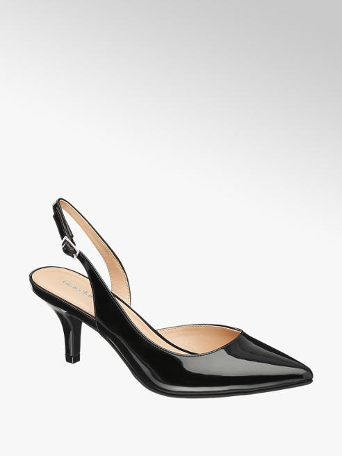 Graceland Lack Sling Pumps