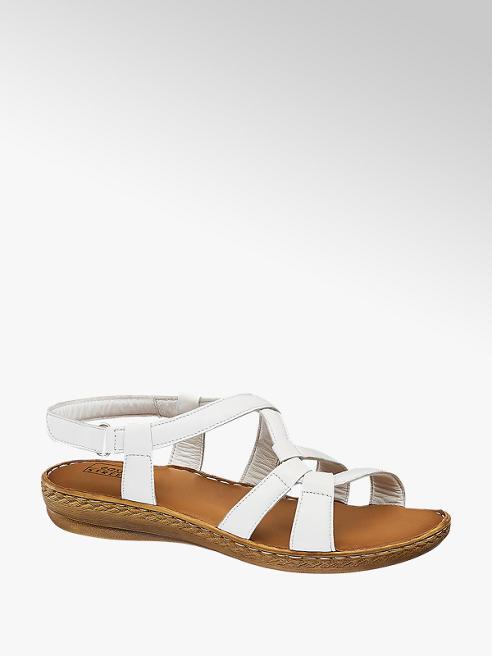Easy Street Leder Komfort Sandaletten, Weite: G