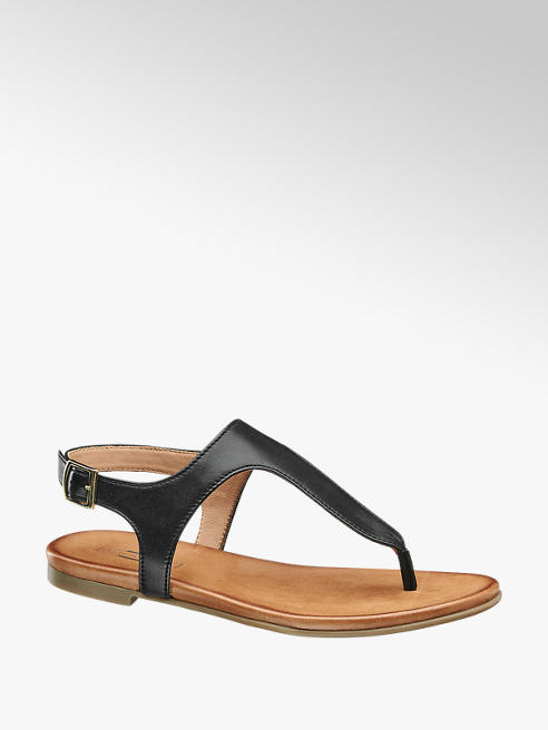 5th Avenue Leder Sandalen