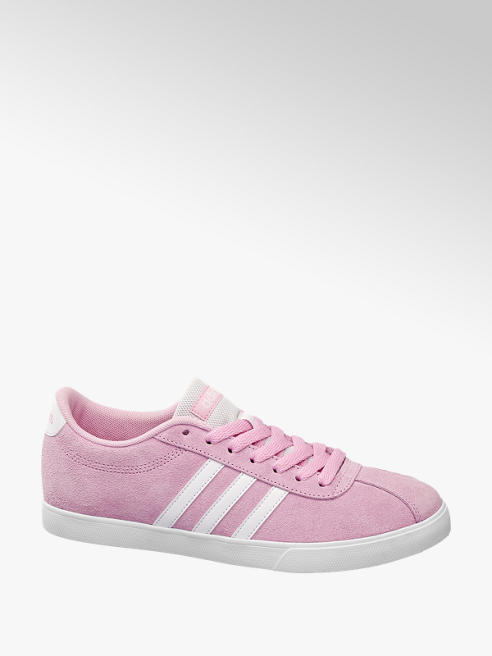 adidas Leder Sneakers COURTSET W