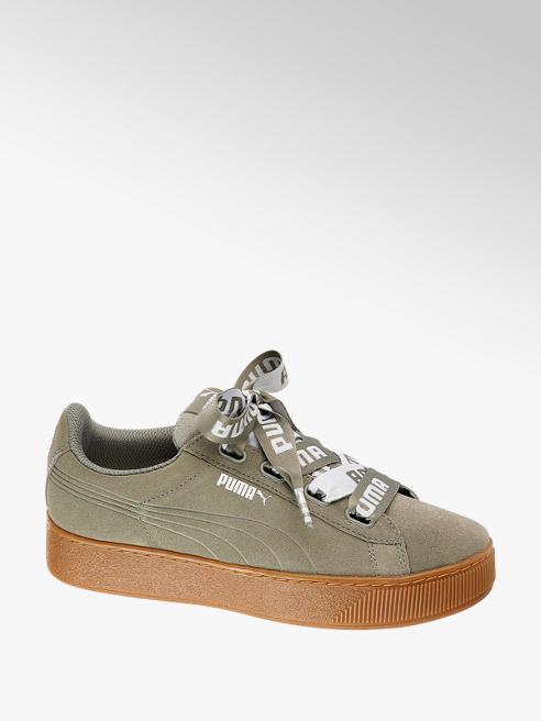 Puma Leder Sneakers VIKKY PLATFORM RIBBON
