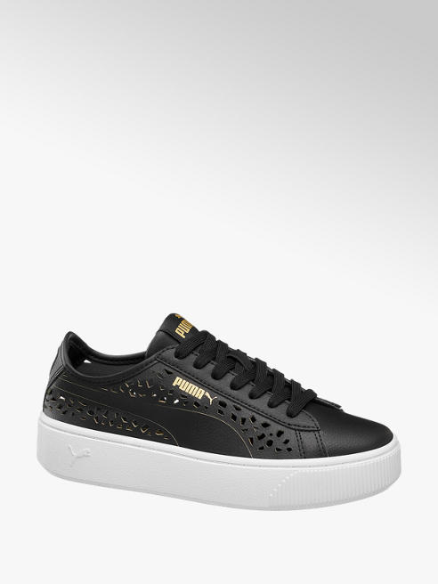 Puma Leder Sneakers VIKKY STACKED