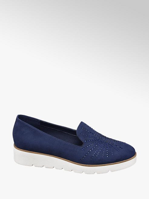 Graceland Loafer mit Plateau