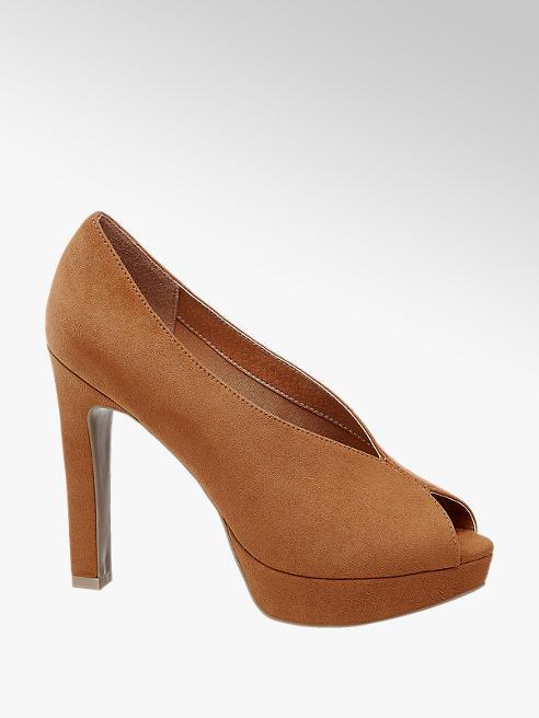 Catwalk Peeptoe High Heels