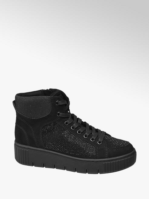 Venice Plateau Mid Cut Sneakers