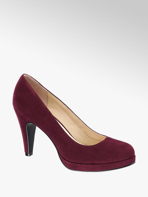 Graceland Pumps mit Plateau