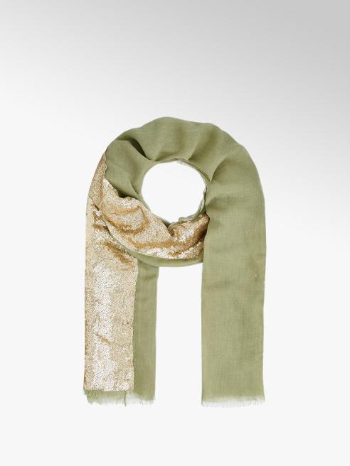 Schal mit Pailletten