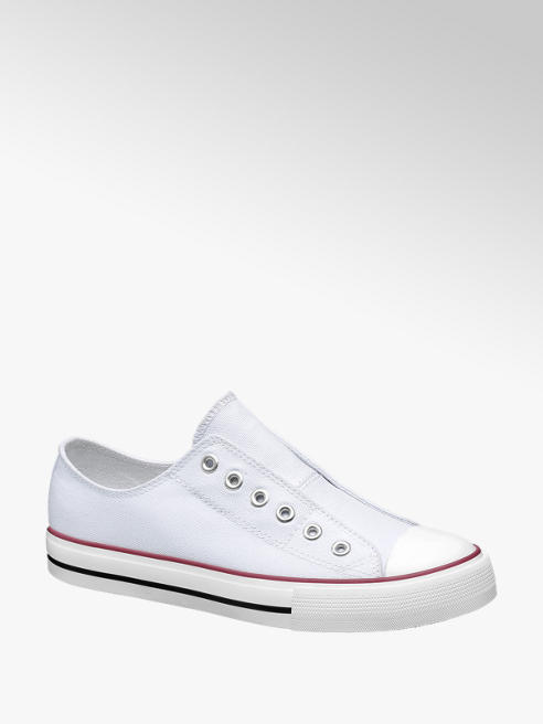 Vty Slip On Leinen Sneakers
