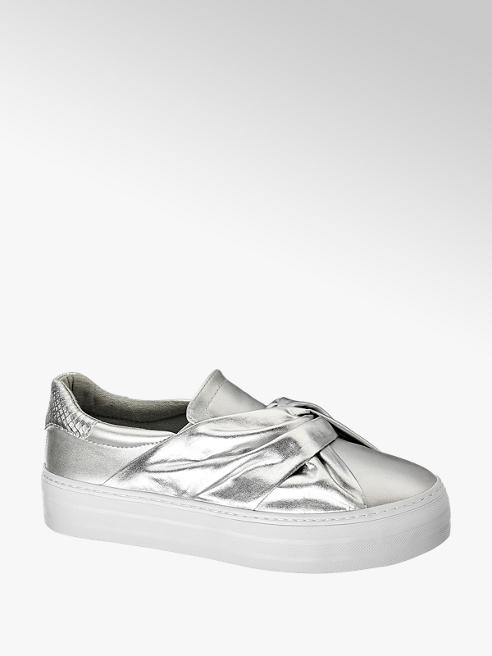 Catwalk Slip On Sneakers im Metallic-Design