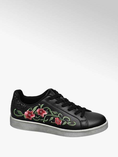 Graceland Sneakers mit Blumen-Dekor