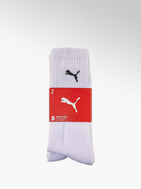 Puma Damen Sportsocken 3 pack 35-38