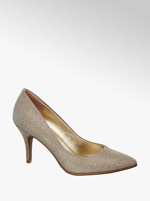 Graceland Décolleté a punta color oro