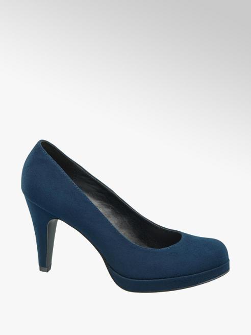 Graceland Décolleté blu con tacco
