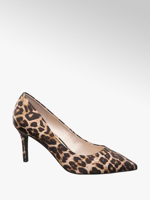 Catwalk Décolleté leopardata