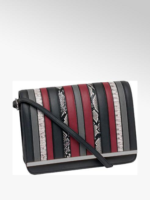 Stripe Cross Body Bag