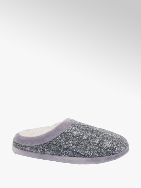 Mens Soft Mule Slippers