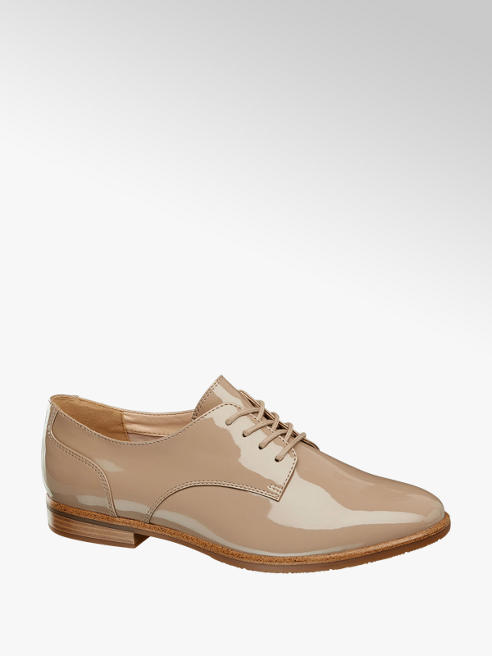 Graceland Derby taupe in vernice