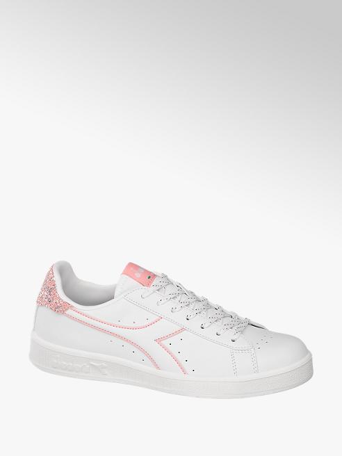 Diadora Sneaker GAMPE P in Weiß mit Pailetten