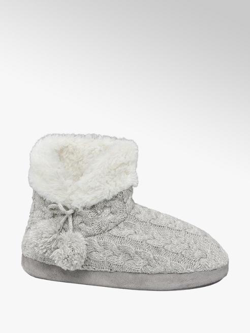 Casa mia Dámská zateplená domácí obuv
