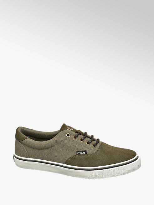 Fila Donker groene canvas sneaker