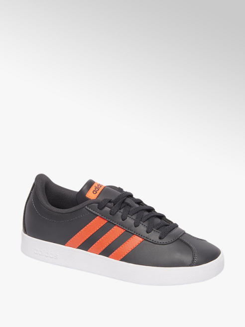 adidas Donkergrijze VL Court 2.0