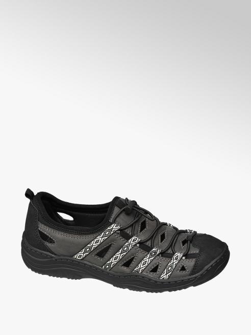 Easy Street Comfort Black Comfort Slip-on Trainers