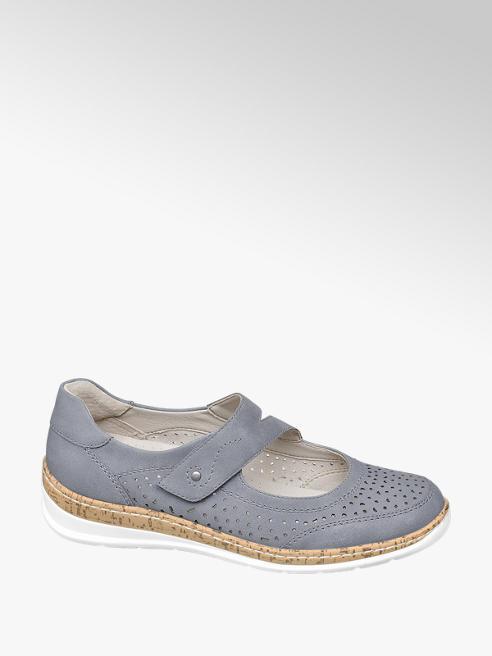 Easy Street Komfort Slipper in Blau, Weite G