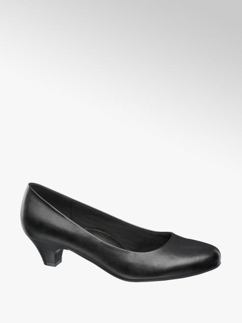 Easy Street Black Comfort Court Shoes