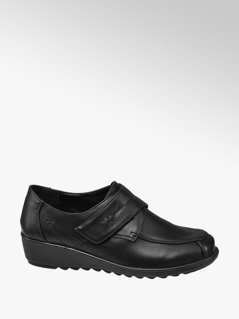 Easy Street Black Touch Fasten Comfort Shoes