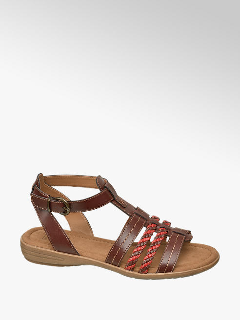 Easy Street Sandalen in Braun