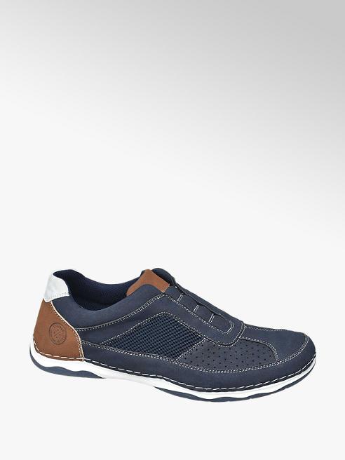Easy Street Slipper in Blau mit Elasteinsätzen