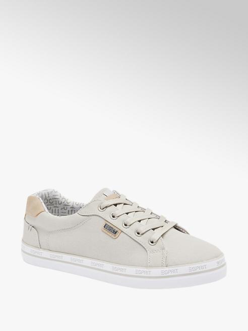 Esprit Leinen Sneaker in Grau