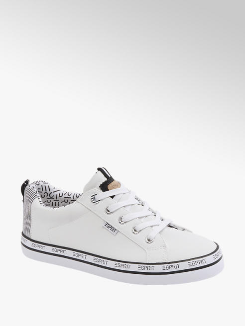 Esprit Leinen Sneaker in Weiß