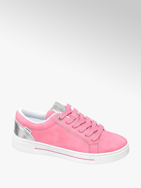 Esprit Sneaker in Pink mit Metallic Look