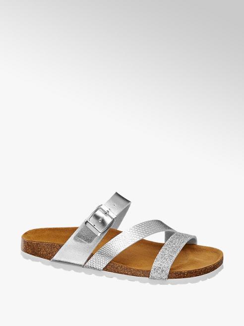 Graceland Ezüst papucs