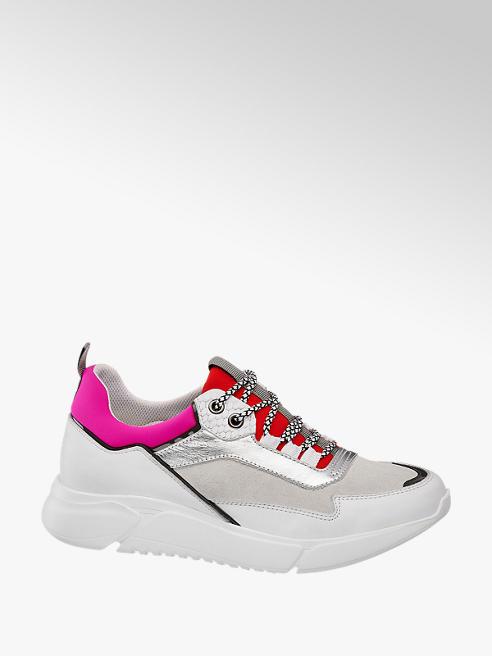 5th Avenue Ezüstös chunky sneaker