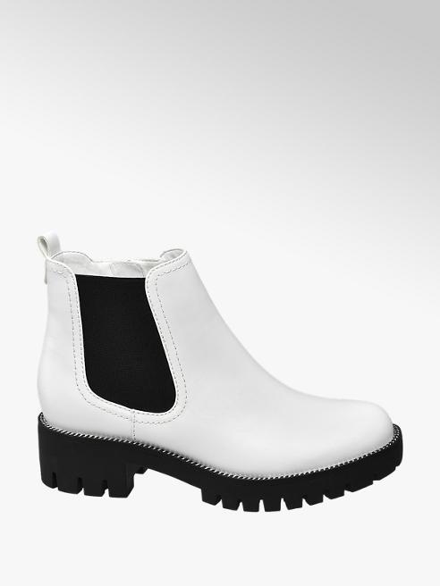 Graceland Fehér chelsea boot