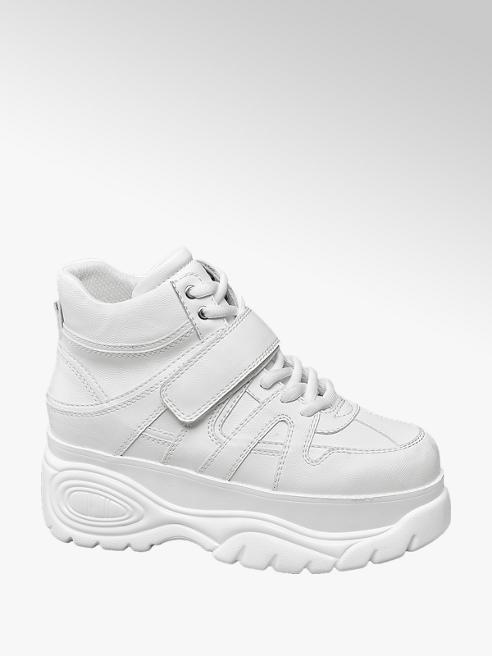 Catwalk Fehér chunky boot